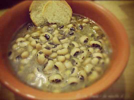 Ricetta: Fagioli con l occhio (black eyed beans)