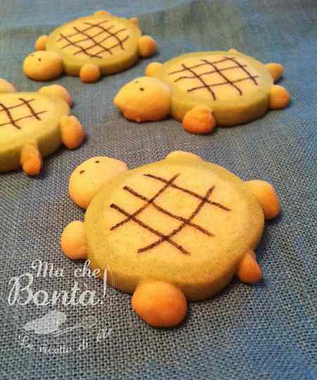 Ricetta: Biscotti tartaruga