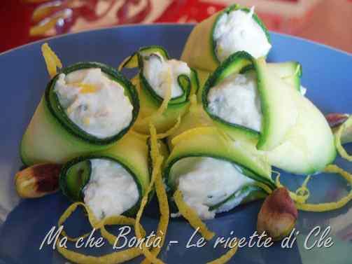 Ricetta: Nostalgia d estate: rotolini di zucchina e ricotta profumati!