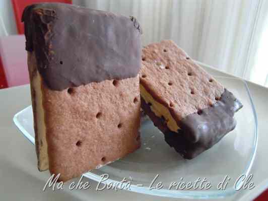 Ricetta: Biscotto gelato (ice cream sandwich)