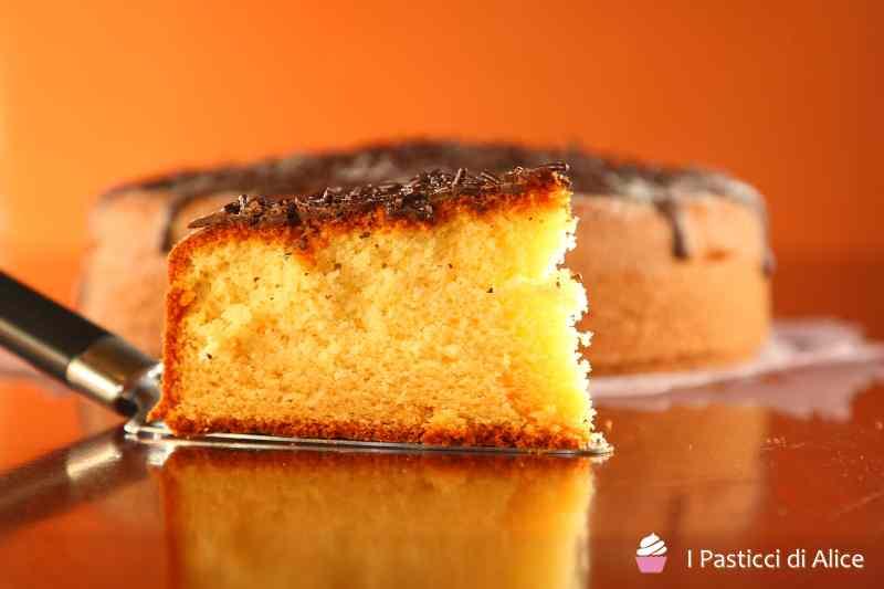Ricetta: Torta al Latte Caldo