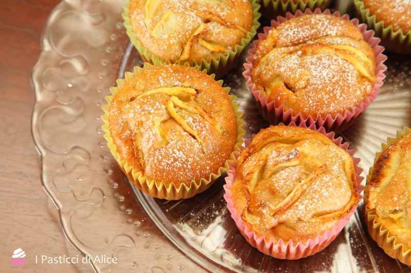 Ricetta: Muffins alla Mela