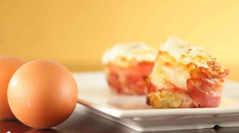 Ricetta: Uova e Bacon al Forno