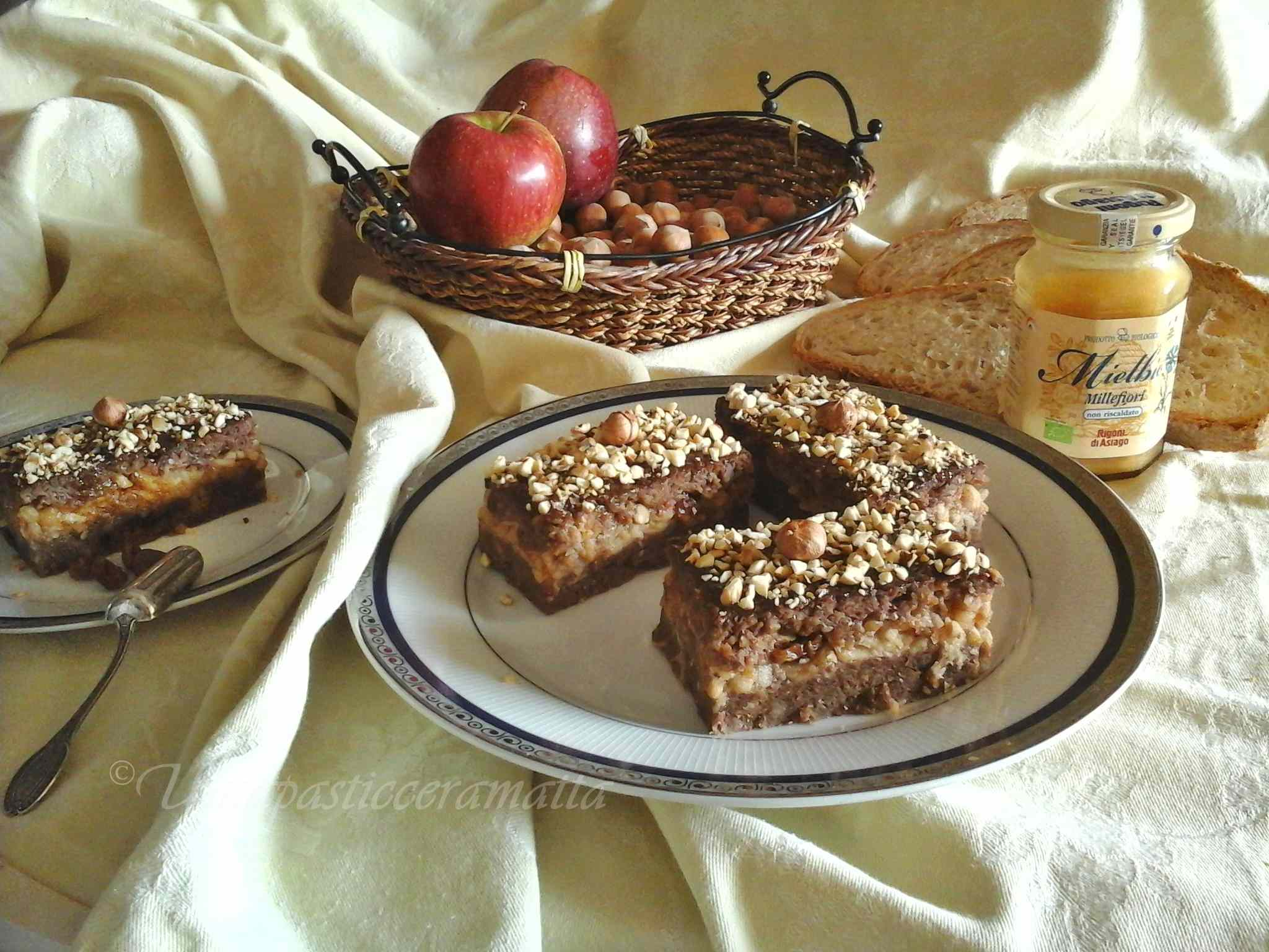 Ricetta: Dolci tentazioni di pane al cacao con mele