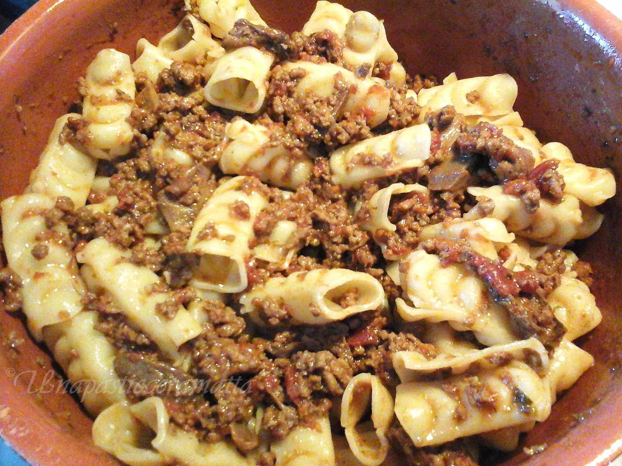 Ricetta: Festonati al ragu con porcini  ricetta toscana
