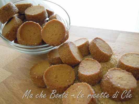 Ricetta: Biscottini al caramello (caramel flavoured cookies)