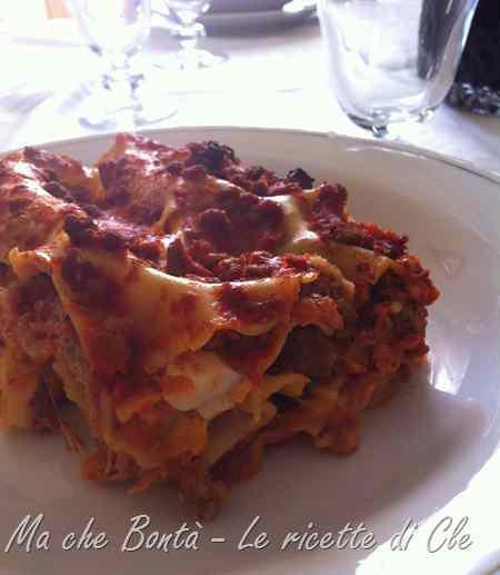 Ricetta: Lasagne al forno... e una novita!