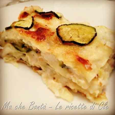 Ricetta: Lasagne fume alle zucchine (zucchini smoked lasagna)