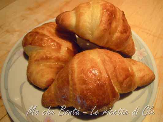 Ricetta: Croissant