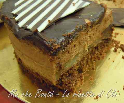 Ricetta: Torta guadalupe (chocolate and banana mousse cake)