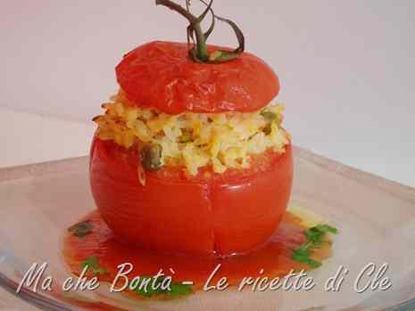Ricetta: Pomodori farciti al forno