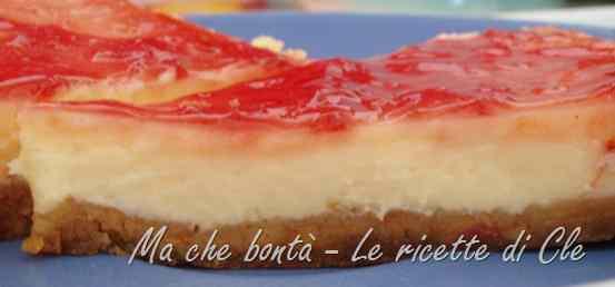 Ricetta: Cheese Cake Semplice