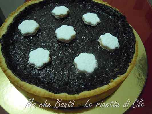Ricetta: Crostata al cioccolato speziata (spiced chocolate tarte)