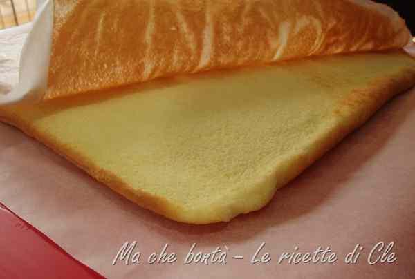 Ricetta: Biscuit bianco per rotoli e tortine