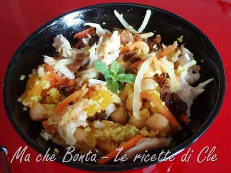 Ricetta: Cous cous in agrodolce