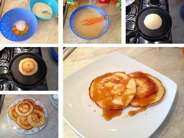 Ricetta: Pancake con sciroppo d\'acero