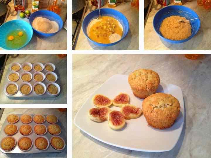 Ricetta: Muffin con fichi freschi