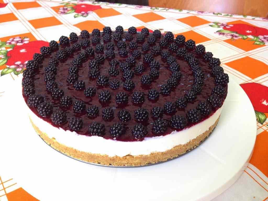 Ricetta: Buon Ferragosto con la cheesecake di more
