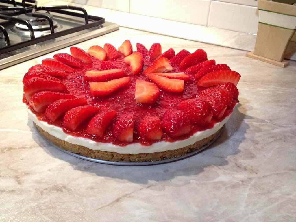 Ricetta: Cheesecake alle fragole
