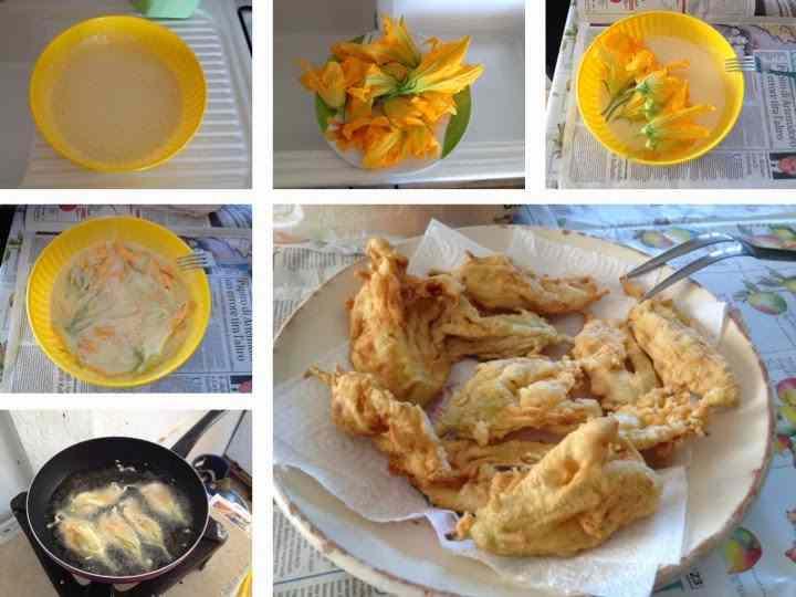Ricetta: Fiori di zucchina fritti