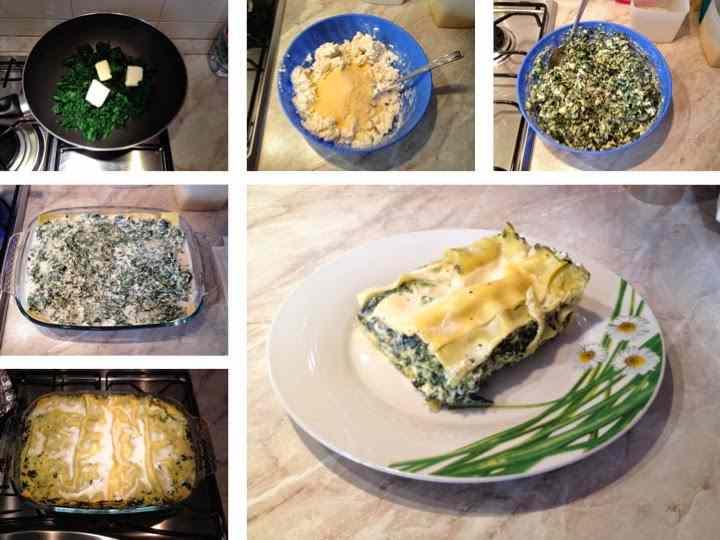 Ricetta: Lasagne ricotta e spinaci