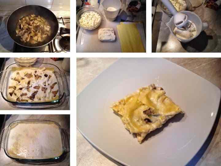 Ricetta: Lasagne con cardonceli e gorgonzola