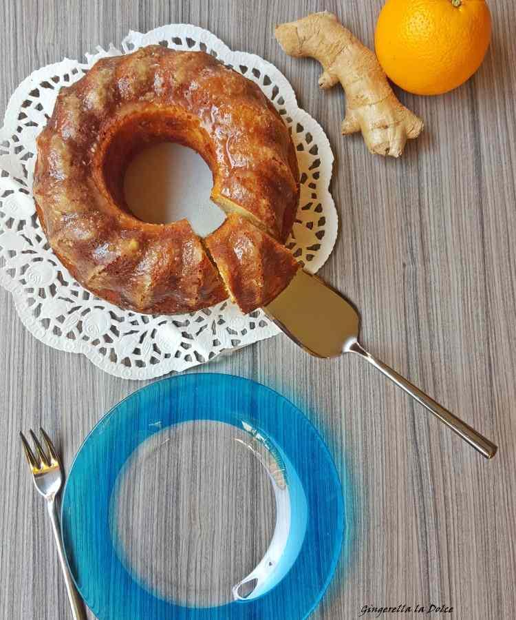 Torta arancia&zenzero