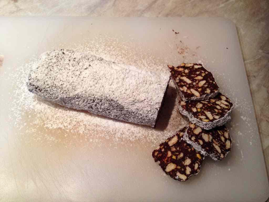 Ricetta: Salame di cioccolato