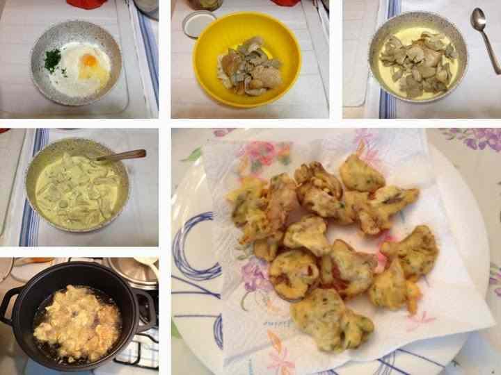 Ricetta: Funghi fritti