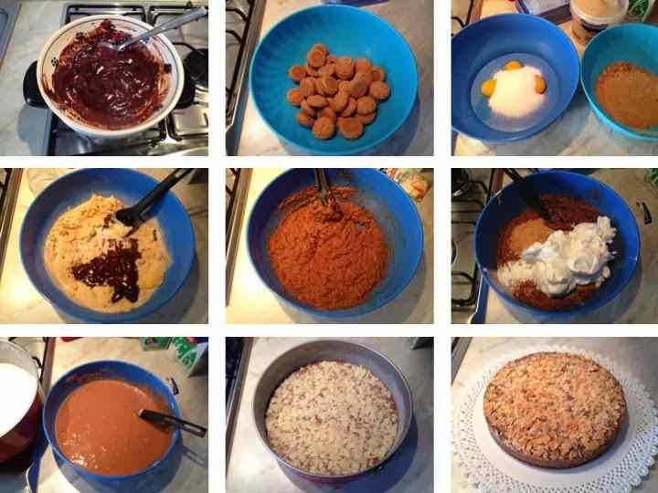 Ricetta: Torta cioccolato e amaretti