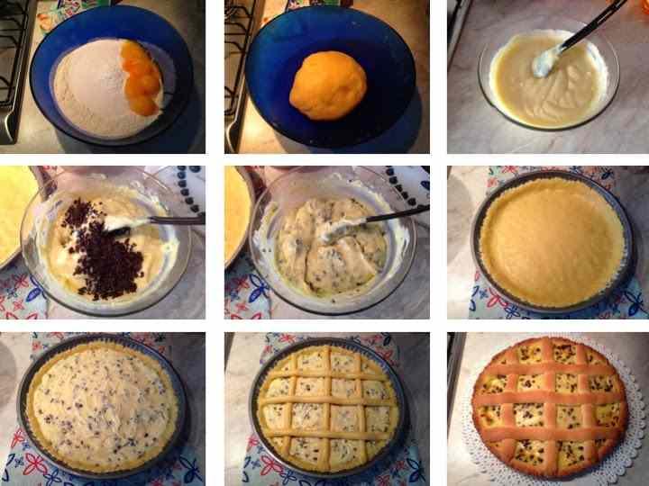Ricetta: Crostata crema e cioccolato