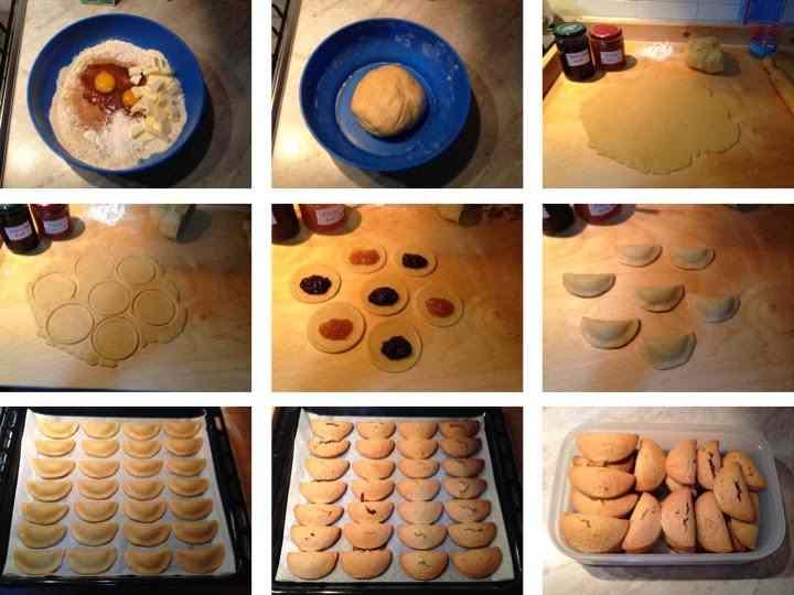Ricetta: Fagottini ripieni di marmellata