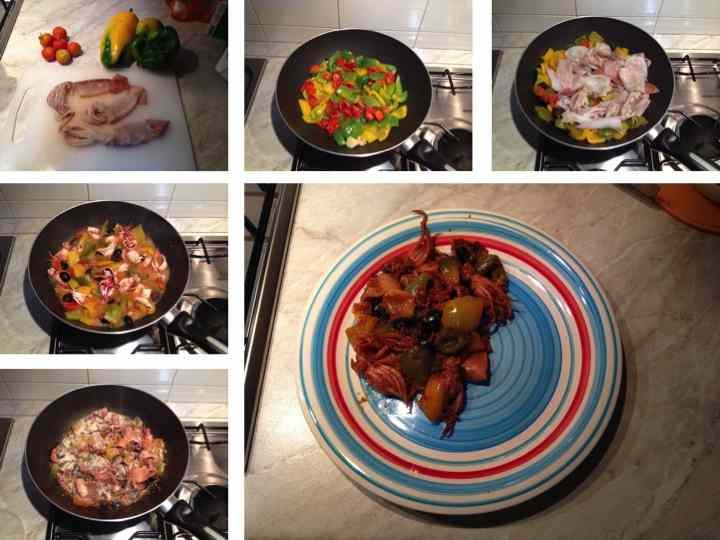 Ricetta: Totani e peperoni