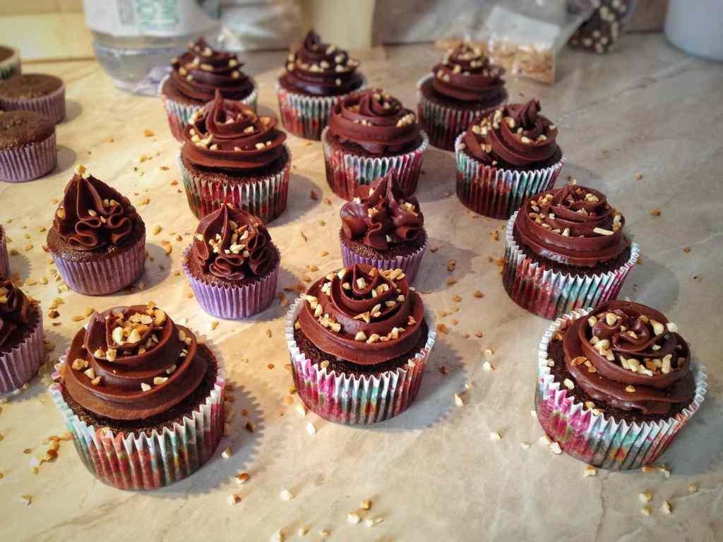 Ricetta: Cupcakes con ganache al cioccolato