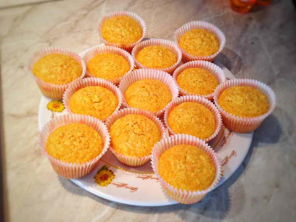 Ricetta: Muffin carote e mele