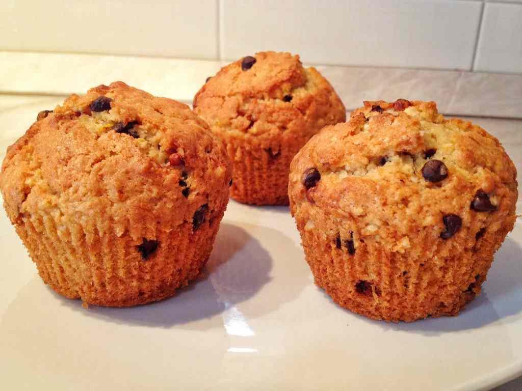 Ricetta: Muffin zucca, cioccolato e mandorle