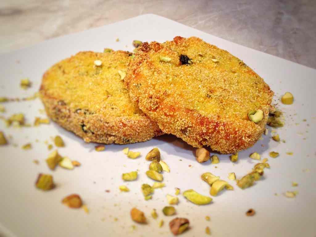 Ricetta: Medaglioni di zucca e pistacchi