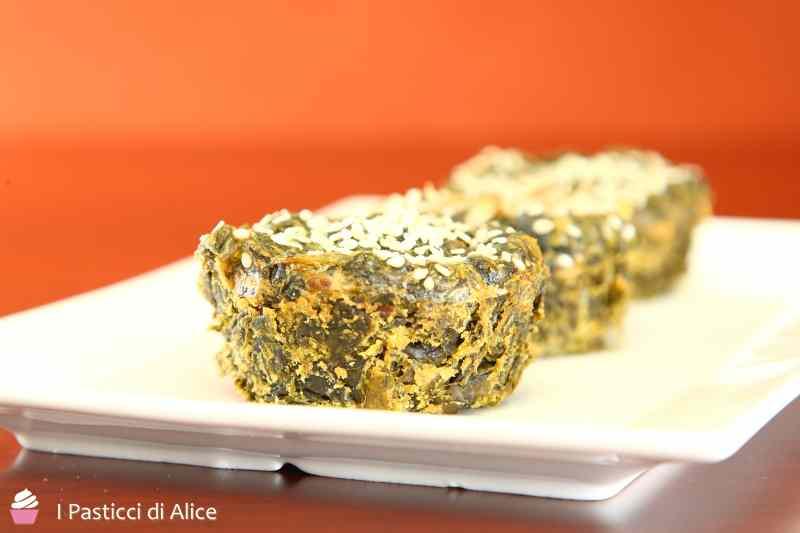 Ricetta: Tortini di Spinaci al Forno senza Uova
