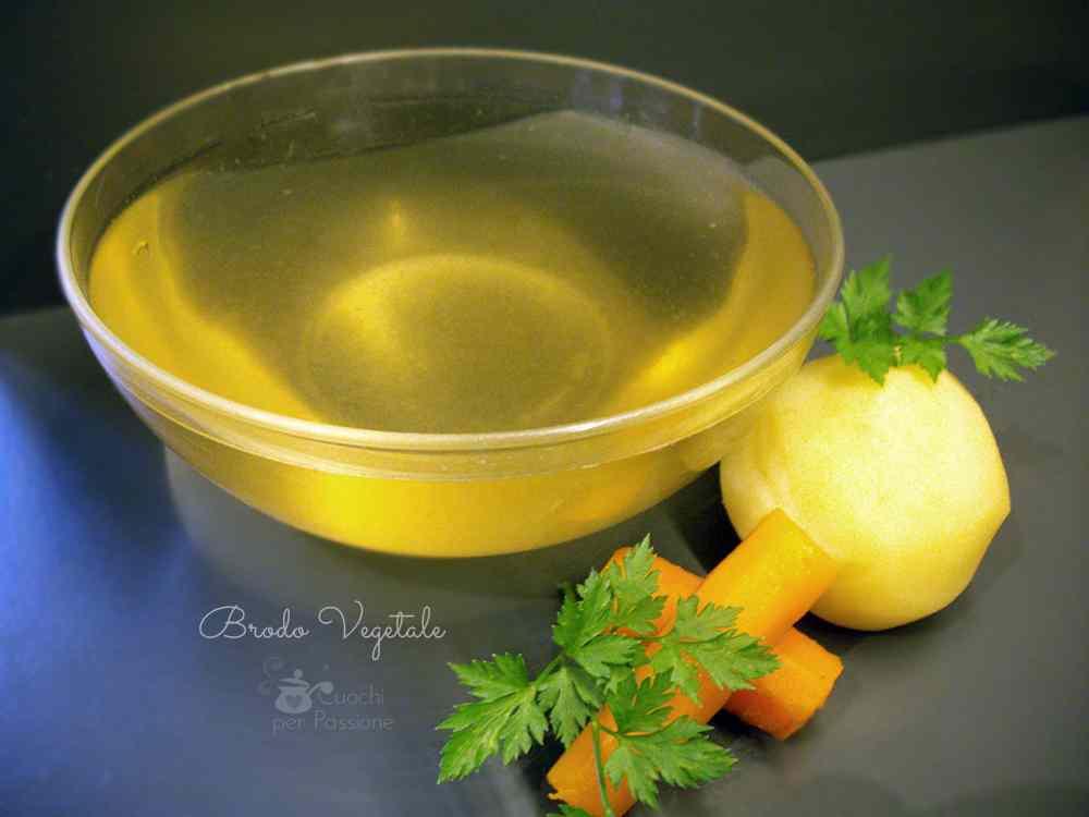 Ricetta: Brodo Vegetale