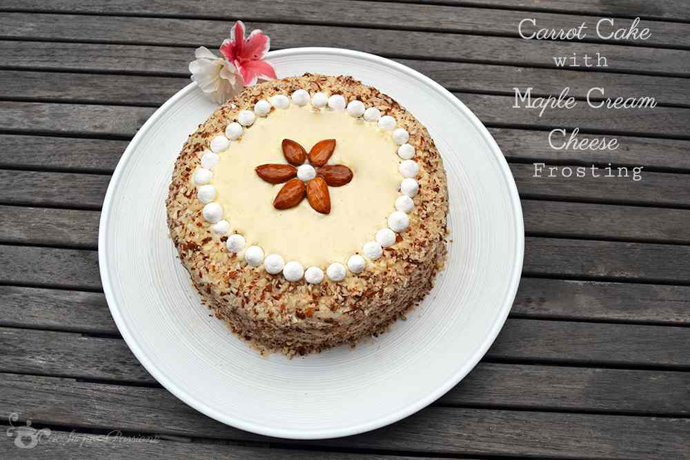 Ricetta: Carrot Cake with Maple Cream Cheese Frosting