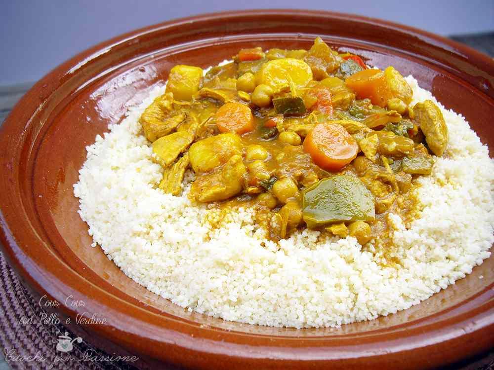 Ricetta: Cous Cous con Pollo e Verdure