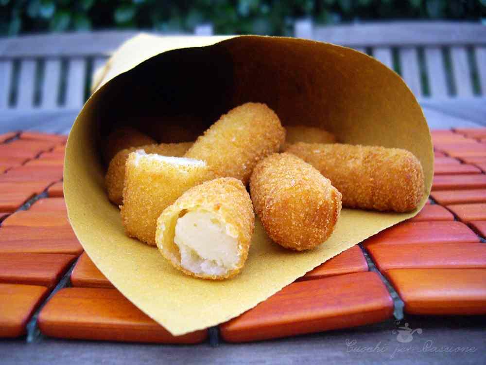 Ricetta: Crocchette di Patate (versione street food)