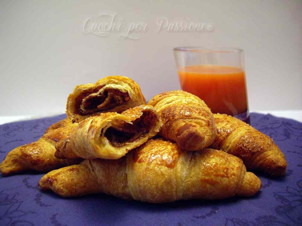 Ricetta: Croissant alla Nutella