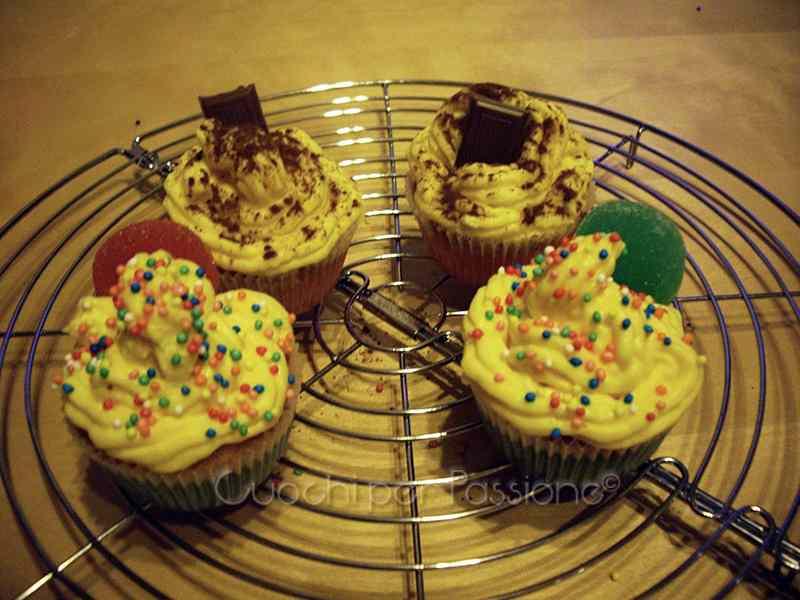 Ricetta: Cupcakes alla Crema