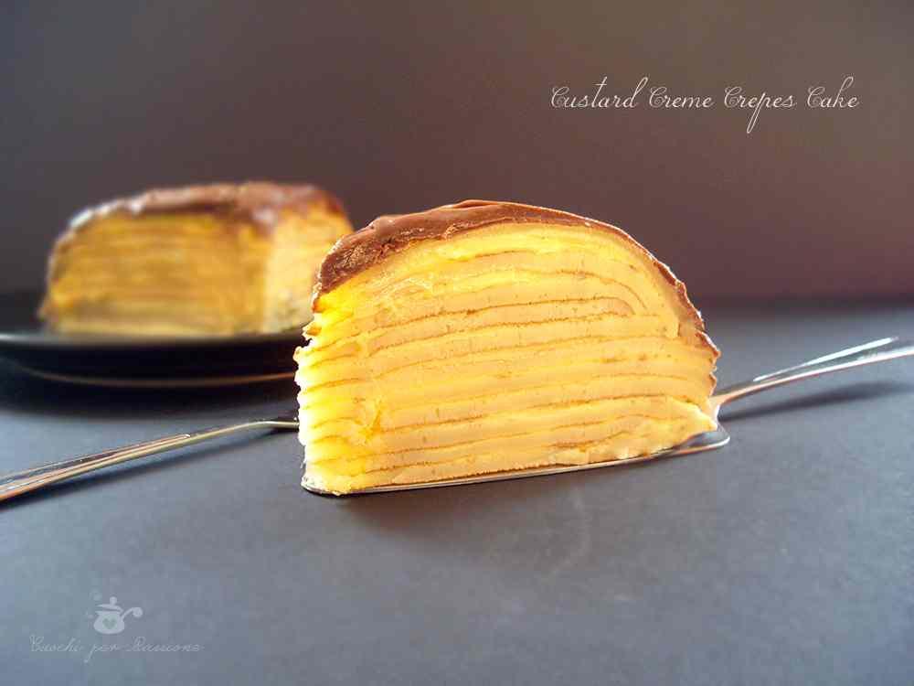 Ricetta: Custard Creme Crepes Cake
