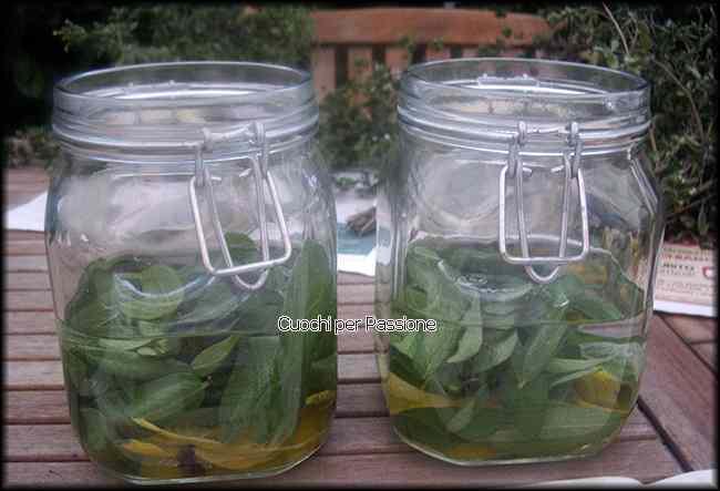 Ricetta: Digestivo alla Salvia