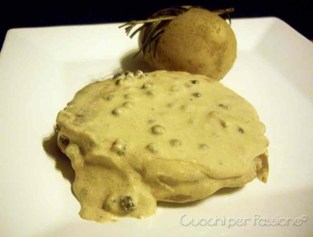 Ricetta: Filetto al Pepe Verde