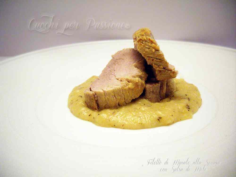 Ricetta: Filetto di Maiale alla Senape con Salsa di Mele