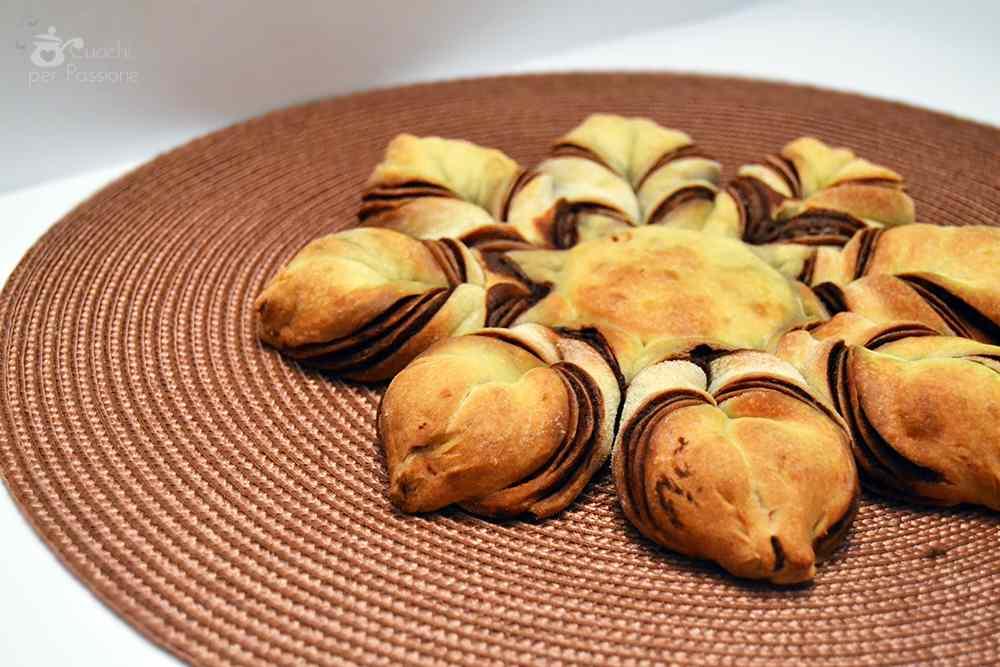 Ricetta: Fiore di Pan brioche alla Nutella