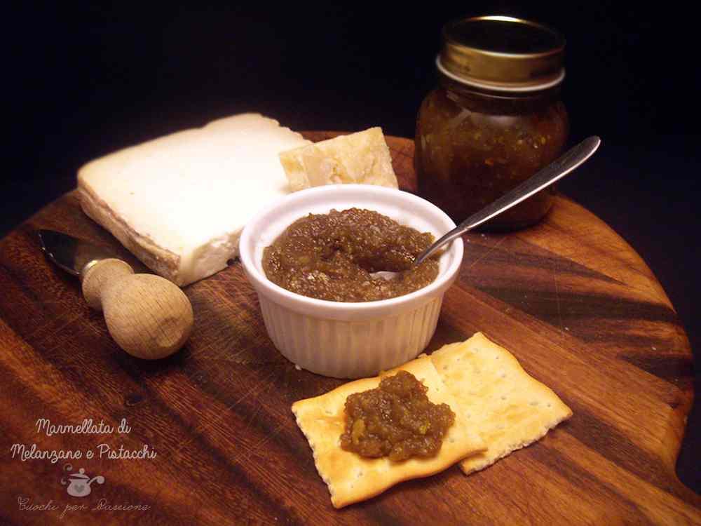 Ricetta: Marmellata di Melanzane e Pistacchi